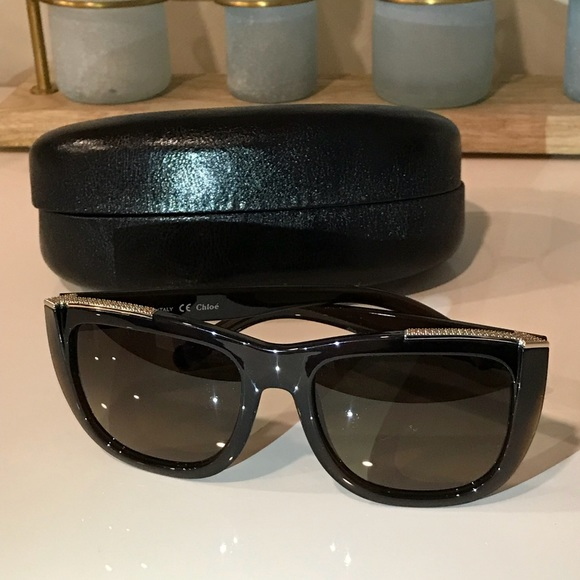 2838186c6cfc Chloe Accessories - Chloe Classic Arrow Sunglasses
